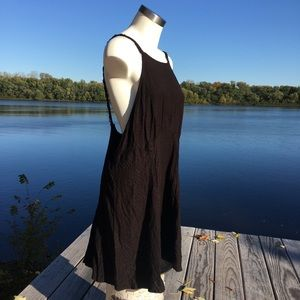 NWT Free People black low under arm dress